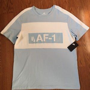 Nike NSW Modern AF1 Tee Men New Light Blue XL